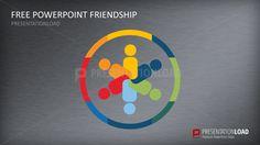 Free PowerPoint Template Friendship