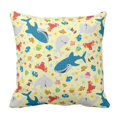 Finding Dory Yellow Pattern. Regalos, Gifts. #cojín #pillow