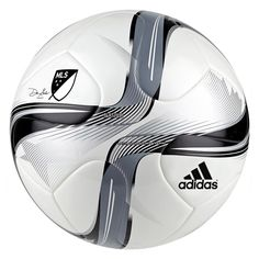Adidas MLS 2015 Nativo Top Training Soccer Ball (White Black Silver) de2dd903d7c0a
