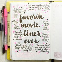 Day 21 of the #listersgottalist challenge: favorite lines from a movie ❤️ Most of my favorites are those achingly romantic (aka mushy) lines from some of my favorite movies plus a zinger from Beatrix...