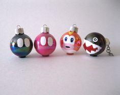 Mario Christmas Ornaments - Nerd Christmas continued