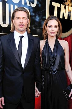 In 2012: Brad Pitt and Angelina Jolie made it (more) official with a diamond