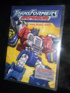 Transformers Armada, Vol. 1 (DVD, for sale online Transformers Armada, Dvds For Sale, 30th Anniversary, Seal, Amp, Movies, Films, Cinema, Movie