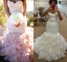 I found some amazing stuff, open it to learn more! Don't wait:https://m.dhgate.com/product/vintage-2016-mermaid-wedding-dresses-blush/374263755.html
