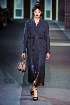 Dipped in sequins at Louis Vuitton Fall 2013 #runway #fashionweek