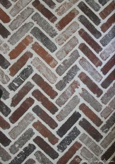 Thinking about putting a brick floor in your home? Read this post for information about where to buy brick tiles cost sealer and more! Paver Patio Cost, Brick Paver Patio, Brick Pathway, Brick Tile Floor, Brick Flooring, Brick Wall, Floors, Thin Brick, Gardens