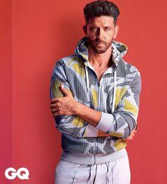 Hrithik Roshan Poses For GQ Magazine Portrait Photography Men, Photography Poses For Men, Bollywood Actors, Bollywood Celebrities, Half Girlfriend Movie, Hrithik Roshan Hairstyle, Photo Pose For Man, Mens Photoshoot Poses, Surya Actor