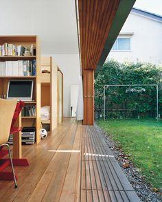 Project: Engawa House  Architects: Tezuka Architects  Location: Tokyo, Japan