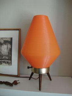 Vintage Josef Hurka Tripod Lamp for Napako on DECASO.com | MCM Desk Lamps |  Pinterest | Tripod