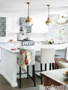 Caitlin Wilson | House Beautiful Feature: Kitchen of the Month