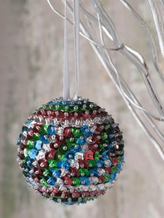 Sequin Christmas Ball/ Christmas Tree Decoration/ Christmas Ball/ Christmas Ornaments/ Sequin/ Red Blue and Green Sequins by SequinsAndMore on Etsy https://www.etsy.com/listing/477789610/sequin-christmas-ball-christmas-tree