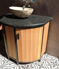Installed wash basin with sliding doors Sliding Doors, Basin, Canning, Table, How To Make, Furniture, Home Decor, Homemade Home Decor, Sliding Door