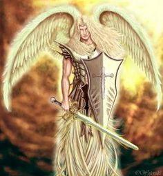 he who looks like god, the archangel, Michael