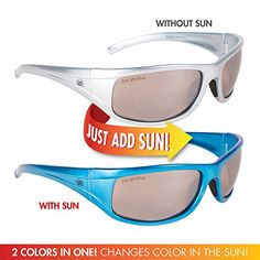 f137c5b632 Solize Color-Changing Polarized Sunglass by Del Sol - Lifetime Protection  Against Theft