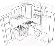Картинки по запросу дизайн маленькой кухни в стиле прованс 5м кв