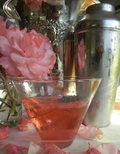 Rose Infused Simple Syrup