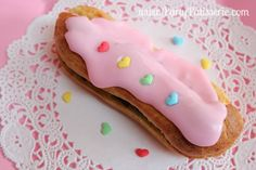 Beautiful, homemade French Eclairs Recipe. www.partypatisserie.com