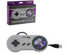 2 Pcs. Cable Retrolink SNES Wired Gamepad 6 Digital Button SFC Classic Controller For Windows PC/MAC