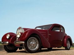 1936 Classic Bugatti Type 57 Ventoux #ClassicCars #VintageCars #VCI