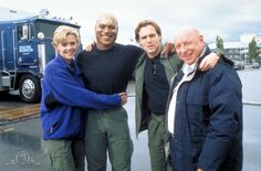 Behind the scenes with Amanda Tapping, Christopher Judge, Michael Shanks, and Don S. Davis