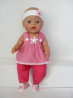 Rosalin Poppenmode Voor Baby Born Girl