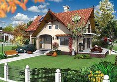 Locuinta P 197 mp Specificatii: 197 mp / 153 mp utili (fara terasa, balcoane) amprenta sol: 11 Best Small House Designs, Simple House Design, Dream Home Design, Exterior House Colors, Interior Exterior, Exterior Design, Living Room Decor Purple, Rustic Pergola, Attic Design