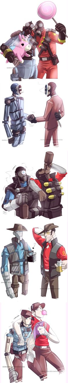 TF2: RobotBuddies by *DarkLitria