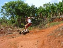 Join us for a rush of beautiful forestry roads down into the Sabie Valley! Mountain boarding is quite easy for anyone with generally good balance. Enjoy the views and tranquillity of the forest. Kruger National Park, Adventure Activities, Longboarding, South Africa, Southern, Join, Mountain, Country Roads, African