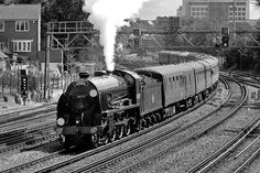 Photo of King Arthur Class 4-6-0 30777 on a London to Weymouth special train leaving Southampton on 18th August 2010