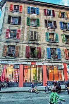 Genève colorée