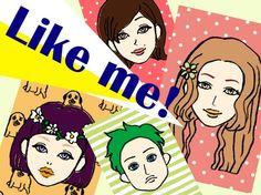 絵心がなくても大丈夫!簡単に似顔絵を作成できる似顔絵アプリ『Like me! 』で遊んじゃおう☆