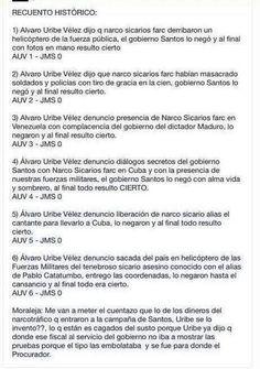 LAS VERDADES DE @Alvaro Uribe   LAS MENTIRAS DE @Juan Manuel Santos Calderon   IRREFUTABLE  => SANTOS SE PANIQUEA CON LOS DEBATES pic.twitter.com/PWM5MKitGL