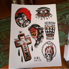 #flash by @thehopelesslover #tattoo #tattoos #tattooart #tradition #traditional #tattooflash #art