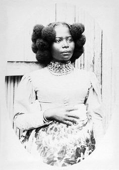 Woman, Civil War era.