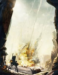 Concept art by tipa_graphic , via Behance