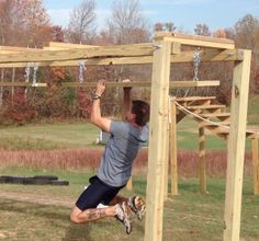 backyard adventure challenge course - Google Search                                                                                                                                                                                 More