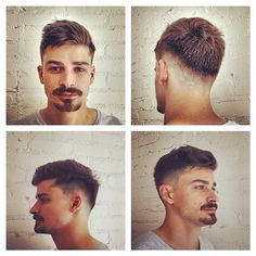 stylish smart undercut with edge