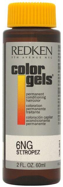 redken - color gels permanent conditioning haircolor 6ng - st.tropez (2 oz.)
