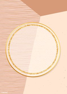 Gold round frame on background vector | premium image by rawpixel.com / Adj