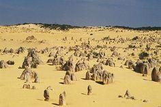 Le désert des Pinacles, Australie