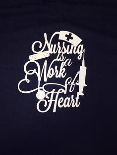Nursing TShirt by 5thRowSouth on Etsy