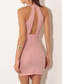Bodycon Dress Sexy Pink Party Dinner Cocktail Event Dress