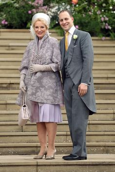 - Photo 9 - Guests at Lady Gabriella Windsor and Thomas Kingston's royal wedding at Windsor Castle included Prince Harry, the Queen and Pippa Middleton Carole Middleton, Middleton Family, Lord Frederick Windsor, Lady Sarah Chatto, Prince Andrew, Prince Michael Of Kent, Prince Edward, Prince Philip, Sarah Ferguson