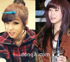 전효성(시크릿) Before & After ...