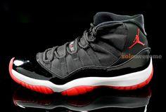 Air Jordan XI – Black – Varsity Red – White - 2012