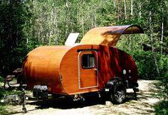 wood teardrop camper   New Obsession: Teardrop Trailers