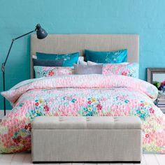 Mercer + Reid Kimono - Bedroom Quilt Covers & Coverlets - Adairs online on sale $85