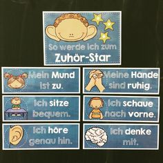 Prerequisites for successful listening comprehension - board material for the competence area Speaking and Listening to the CurriculumPLUS for teaching German in elementary school - German / DaZ - Elementary Education Education Major, Primary Education, Elementary Education, Education Quotes, Special Education, Texas Education, I School, School Teacher, Primary School