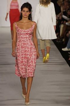 Marc Jacobs Spring 2003 Ready-to-Wear Fashion Show - Isabeli Fontana, Marc Jacobs