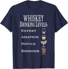 Amazon.com: Funny Whiskey Drinking Levels T-Shirt: Clothing Beard Styles, Shirt Price, Branded T Shirts, Whisky, Fashion Brands, Drinking, Cellar, Cigars, Amazon